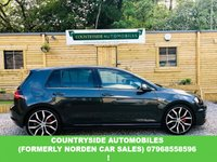 USED 2014 14 VOLKSWAGEN GOLF 2.0 GTD 5d 181 BHP Absolutely stunning example finished in Carbon grey with the very desirable tartan cloth trim, Xenon headlights with adaptive cornering lighting, also has the unbelievable advanced adaptive cruise control, air-conditioned glove box thet will keep glove box freezing even when heating on in car, auto lights, auto wash wipers, digital air conditioning, park pilot. Dressed up and sat on 19 inch Santiago Alloy wheels. stunning looks and performance and only £20 a year to tax!