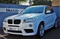 2013 BMW X3 XDRIVE 2.0D M SPORT 5d AUTO 181 BHP £17930.00