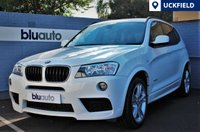 USED 2013 13 BMW X3 XDRIVE 2.0D M SPORT 5d AUTO 181 BHP Immaculate.. 2 Private Owners, Professional Navigation, Leather, Heated Seats....