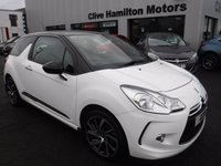 USED 2015 CITROEN DS3 1.6 E-HDI DSTYLE PLUS 3d 90 BHP