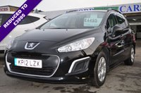 USED 2012 12 PEUGEOT 308 1.6 HDI SW ACCESS 5d 92 BHP