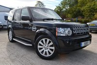 2011 LAND ROVER DISCOVERY 3.0 4 SDV6 HSE 5d AUTO 255 BHP £14879.00
