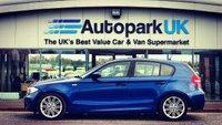 2009 BMW 1 SERIES 2.0 118D M SPORT 5d AUTO 141 BHP £6895.00