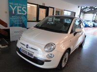 USED 2009 09 FIAT 500 1.2 LOUNGE 3d 69 BHP This One lady owner from new £30 a year tax Fiat 500 is finished in Bossanova White with Black and white chequered seats. It is fitted with power steering, remote locking, electric windows and mirrors, panoramic roof, Bluetooth & Media capability, daylights,  alloy wheels, CD Stereo with USB port and more. It has been serviced 6 times by a Fiat Dealer @ 7514/14702/20304/28158/38844/44220 and 3 times independently @ 58748/54045/58623 miles.
