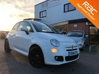 USED 2014 14 FIAT 500 1.2 S 3d 69 BHP LOW RATE FINANCE | RAC BUYSURE