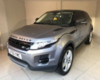 USED 2012 62 LAND ROVER RANGE ROVER EVOQUE SD4 PURE