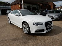USED 2016 16 AUDI A5 2.0 TDI QUATTRO S LINE S/S 2d AUTO 174 BHP PAN ROOF,HEATED SEATS,CRUISE,BANG AND OULFSEN,PARKING SENSORS