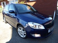 USED 2011 11 SKODA FABIA 1.2 ELEGANCE TSI 5d 84 BHP Great Spec & Rare In Petrol What A Great Specification Compact Estate Car, Super Economical Running Costs, Good Service History