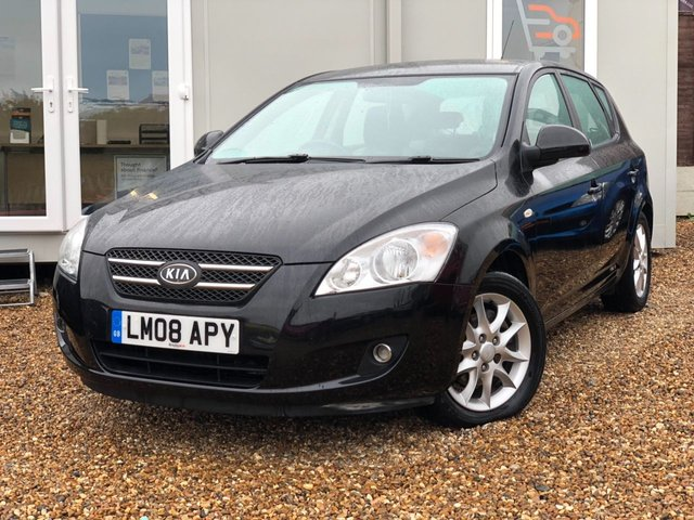 2008 08 KIA CEED 1.6 LS 5d 121 BHP + FULL LEATHER