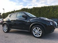 USED 2015 65 NISSAN JUKE 1.2 DIG-T ACENTA PREMIUM 5d WITH SAT NAV AND SERVICE HISTORY  NO DEPOSIT  PCP/HP FINANCE ARRANGED, APPLY HERE NOW