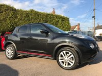 USED 2015 65 NISSAN JUKE 1.2 DIG-T ACENTA PREMIUM 5d WITH SAT NAV AND PRIVACY GLASS  NO DEPOSIT  PCP/HP FINANCE ARRANGED, APPLY HERE NOW