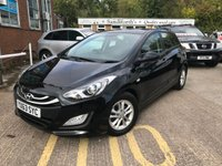 2013 HYUNDAI I30 1.6 ACTIVE BLUE DRIVE CRDI 5d BLUETOOTH, FREE TAX, ONLY 53K £6990.00