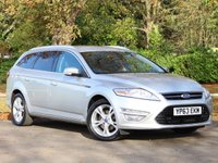 USED 2013 63 FORD MONDEO 2.0 TITANIUM X BUSINESS EDITION TDCI 5d AUTO 161 BHP £181 PCM With £969 Deposit