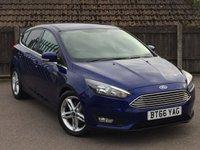2016 FORD FOCUS 1.5 ZETEC TDCI 5d AUTO 118 BHP £10995.00
