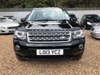 2013 LAND ROVER FREELANDER 2.2 SD4 GS 5d AUTO 190 BHP £14650.00
