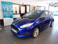 USED 2015 15 FORD FIESTA 1.0 ZETEC S 3d 124 BHP This deep impact Blue metallic Fiesta Zetec S 1.0T Ecoboost is finished with black cloth seats. It is fitted with the Zetec S body kit, power steering, remote locking, electric windows and mirrors, air conditioning, heated front screen, led daylights, Bluetooth, start stop, tinted glass, fogs, alloy wheels, CD Stereo with Aux & USB port and more. It has had 2 owners from new, the last a Doctor and comes with a full service history, done at 9381/16365/19100 miles.