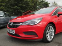 USED 2015 65 VAUXHALL ASTRA 1.6 TECH LINE CDTI S/S 5d 134 BHP SATELLITE NAVIGATION  - 83.1 MPG EXTRA