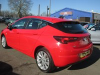 """USED 2015 65 VAUXHALL ASTRA 1.6 TECH LINE CDTI S/S 5d 134 BHP SAT NAV WITH 8"""" TOUCH SCREEN"""
