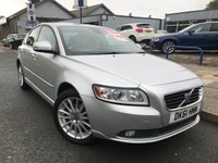 2011 VOLVO S40 2.0 SE LUX EDITION 4d 143 BHP £SOLD