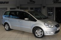 USED 2012 61 FORD GALAXY 1.6 ZETEC 5d 160 BHP - full service history  SILVER WITH FULL DAPHNE CLOTH SEATS + F S H + 7 SEATS + BLUETOOTH + PARKING SENSORS + CRUISE CONTROL + AIR CON + 16 ALLOYS