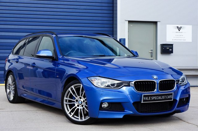 2013 63 BMW 3 SERIES 2.0 320D M SPORT TOURING AUTO (PANORAMIC GLASS ROOF)