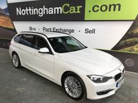 USED 2014 63 BMW 3 SERIES 2.0 318D LUXURY TOURING 5d 141 BHP
