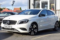 USED 2014 14 MERCEDES-BENZ A CLASS 1.5 A180 CDI BLUEEFFICIENCY SPORT 5d AUTO 109 BHP ONE OWNER FROM NEW