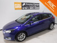 USED 2015 65 FORD FOCUS 1.6 ZETEC TDCI 5d 114 BHP AMAZING CAR IN GLEAMING METALLIC BLUE ONE OWNER WITH FULL SERVICE HAS ONLY DONE 18,930 IT LOOKS AND DRIVES LIKE NEW, THE CAR HAS UPGRADED ALLOYS, FRONT FOG LAMPS, LEATHER CLAD MULTI FUNCTION STEERING WHEEL,BLUETOOTH PHONE AND AUDIO PREP, ELEC WINDOWS, ELEC MIRRORS,DAB RADIO CD PLAYER,VERY ECONOMICAL, LOW TAX