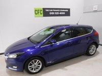 2015 FORD FOCUS 1.6 ZETEC TDCI 5d 114 BHP £18900.00