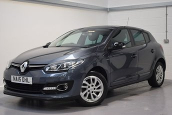 2015 RENAULT MEGANE 1.5 LIMITED ENERGY DCI S/S 5d 110 BHP £6990.00