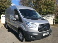 USED 2017 17 FORD TRANSIT 350 RWD 2.0 130 BHP TREND  L3 H2 P/V**70 VANS IN STOCK**