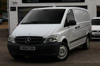 2014 MERCEDES-BENZ VITO 2.1 CDI 113 LONG WHEEL BASE PANEL VAN A/C £7990.00