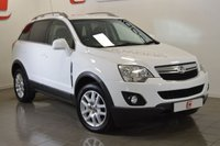 USED 2013 62 VAUXHALL ANTARA 2.2 EXCLUSIV CDTI 4WD S/S 5d 161 BHP HALF LEATHER + PRIVACY GLASS + SERVICE HISTORY + 2 KEYS
