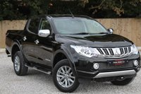 USED 2016 16 MITSUBISHI L200 2.4 DI-D 4X4 BARBARIAN DCB 1d AUTO 178 BHP GENUINE EXAMPLE THROUGHOUT.PRIVATE USE ONLY. PLUS VAT.
