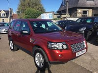 USED 2007 57 LAND ROVER FREELANDER 2.2 TD4 XS 5d AUTO 159 BHP LOW MILEAGE WITH 7 SERVICE STAMPS upto 54,000 mls
