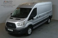 USED 2017 67 FORD TRANSIT 2.0 350 130 BHP L3 H2 LWB TREND AIR CON EURO 6 VAN ALLOYS AIR CONDITIONING EURO 6 ENGINE