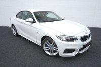 2015 BMW 2 SERIES 2.0 225D M SPORT 2d AUTO 222 BHP £16995.00