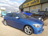USED 2013 62 BMW 1 SERIES 1.6 116I M SPORT 5d 135 BHP