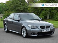 2008 BMW 5 SERIES 3.0 535D M SPORT 4d AUTO 282 BHP £8995.00