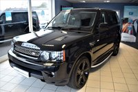 2013 LAND ROVER RANGE ROVER SPORT 3.0 SDV6 HSE BLACK 5d AUTO 255 BHP COMMAND SHIFT 8 SPEED BLACK STYLING PACK £23990.00