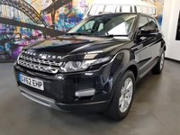 2013 LAND ROVER RANGE ROVER EVOQUE 2.2 SD4 PURE TECH 5d AUTO 190 BHP £18994.00