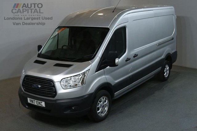2017 17 FORD TRANSIT 2.0 350 130 BHP L3 H2 LWB TREND AIR CON EURO 6 VAN AIR CONDITIONING EURO 6 ENGINE