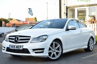 USED 2015 15 MERCEDES-BENZ C CLASS 2.1 C250 CDI AMG SPORT EDITION PREMIUM PLUS 2d AUTO 202 BHP ONE FORMER KEEPER,PANORAMIC SUNROOF,FRONT HEATED SEATS