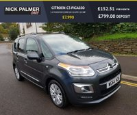 USED 2014 64 CITROEN C3 PICASSO 1.6 PICASSO EXCLUSIVE EGS 5d AUTO 120 BHP ONE OWNER AND FULL SERVICE HISTORY
