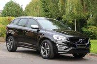 2015 VOLVO XC60 2.0 D4 R-DESIGN LUX NAV 5d AUTO 188 BHP £22590.00
