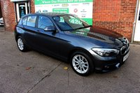 USED 2015 65 BMW 1 SERIES 1.5 116D SE 5d 114 BHP +NEW SHAPE +ONE OWNER +FSH.