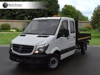 USED 2016 16 MERCEDES-BENZ SPRINTER 2.1 313 CDI C/C MWB 1d 129 BHP DOUBLE CAB TIPPER