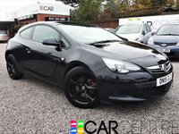 USED 2015 15 VAUXHALL ASTRA 1.4 GTC SPORT S/S 3d 118 BHP
