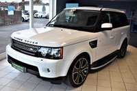 2013 LAND ROVER RANGE ROVER SPORT 3.0 SDV6 HSE BLACK 5d AUTO 255 BHP COMMAND SHIFT 8 SPEED BLACK STYLING PACK £24990.00