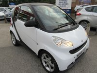 USED 2009 59 SMART FORTWO 1.0 PULSE MHD 2d AUTO 71 BHP New MOT & Service prior to sale